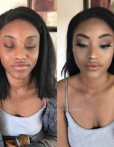 makeup by Kali Garcia, Las Vegas makeup artist
